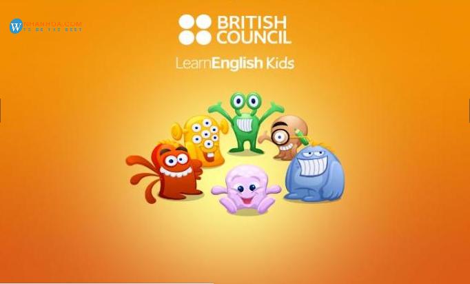 Trang web học tiếng anh cho trẻ em