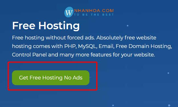 cách đăng ký hosting free