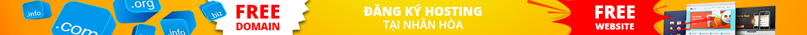 Bảng giá đại lý Tên miền Việt Nam và Quốc tế, Hosting, VPS, Server Web tại Nhân Hòa