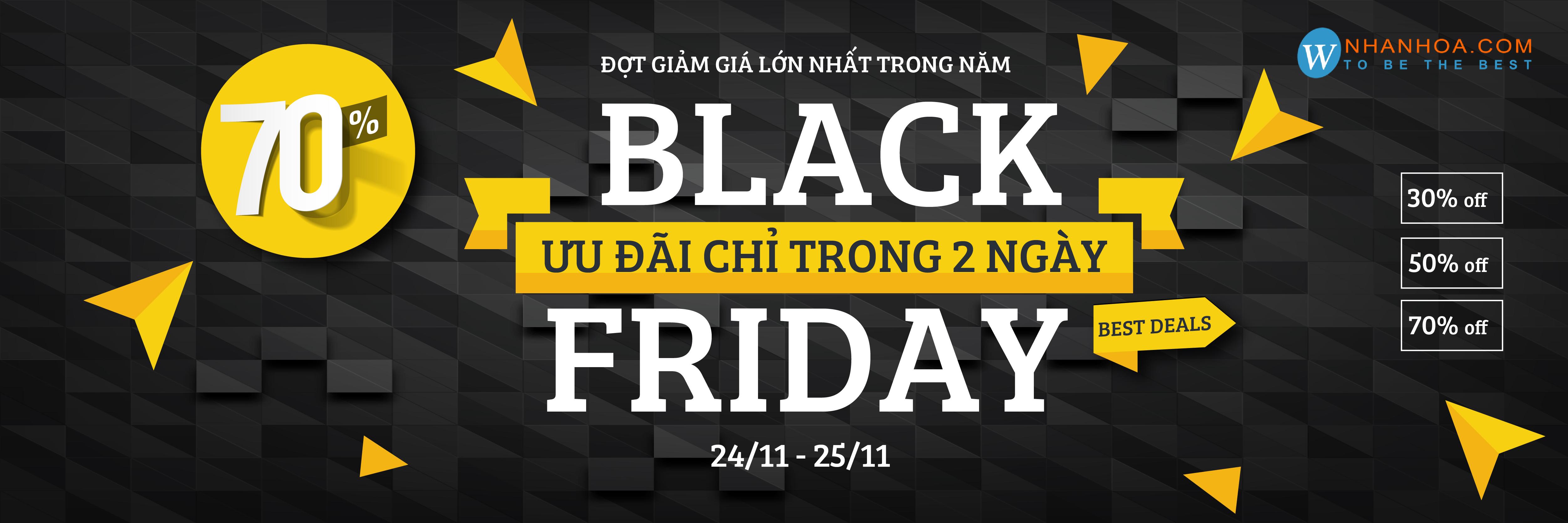 Chương Trình Khuyến Mãi Black Friday