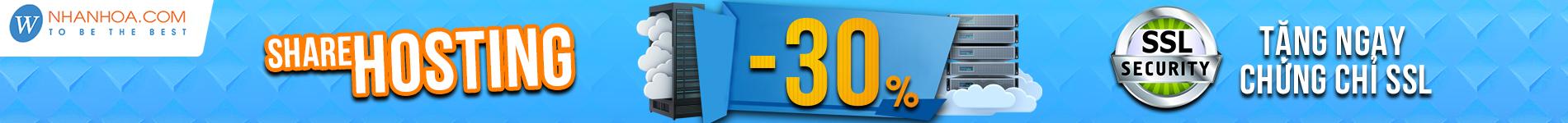 Bảng giá mua bán web hosting SSD-Thuê Linux hosting giá rẻ tốt nhất