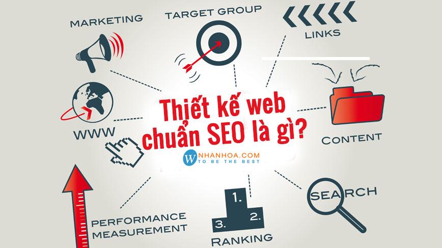 thiet ke website chuan seo la gi